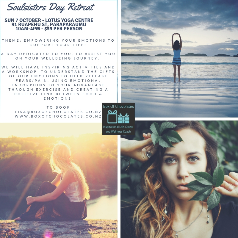 Soulsisters DAY retreat - Empowering your emotions to support your life!